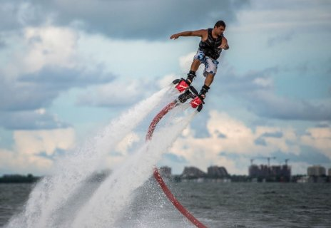 A Water Jetpack for Your Feet