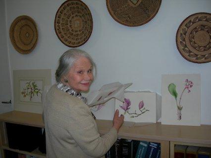 Botanical art teachers in