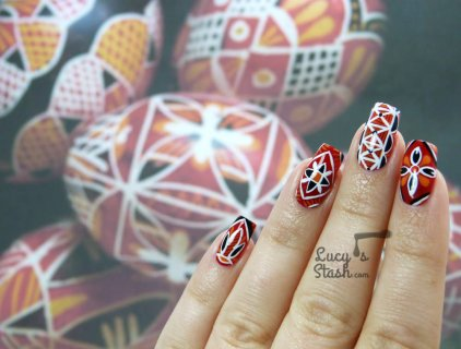 Easter Nail Art | Czech Easter