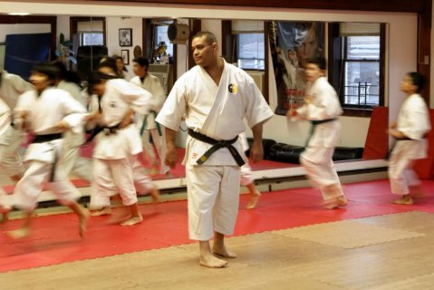 A Yonkers karate school