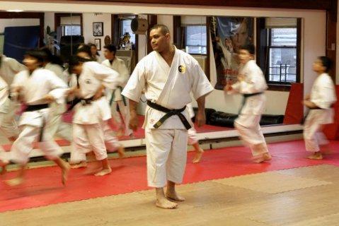 A Yonkers karate school