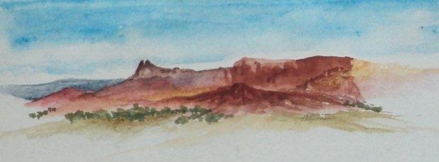 Fantasy Desert Butte