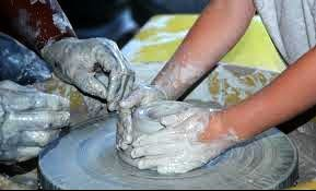 Pottery Wheel Camp at Lancaster Creative Factory