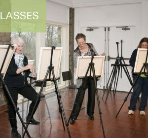 Art classes and workshops