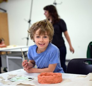 Crocker Art Gallery kids classes workshops