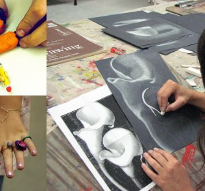 Summer Art workshops for Teenagers