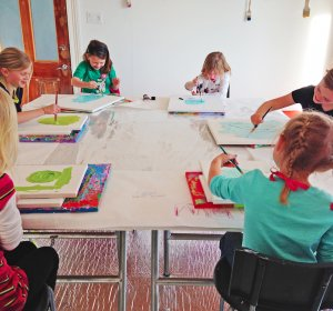 Toddler Art classes Raleigh NC