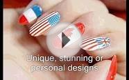Digital nail painting - Newcastle upon Tyne. UK