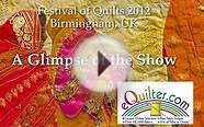 Festival of Quilts 2012 - Birmingham UK - Art Quilts