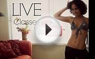 Free belly dance classes: LIVE YouTube classes