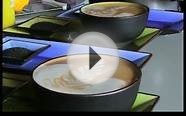 International Barista Champion teaches Latte art and