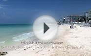 The Beach in Playa Del Carmen Mexico 30 Min HD Relaxation